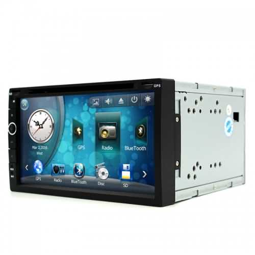 junsun universal 2 din car dvd player radio gps navigation. Black Bedroom Furniture Sets. Home Design Ideas
