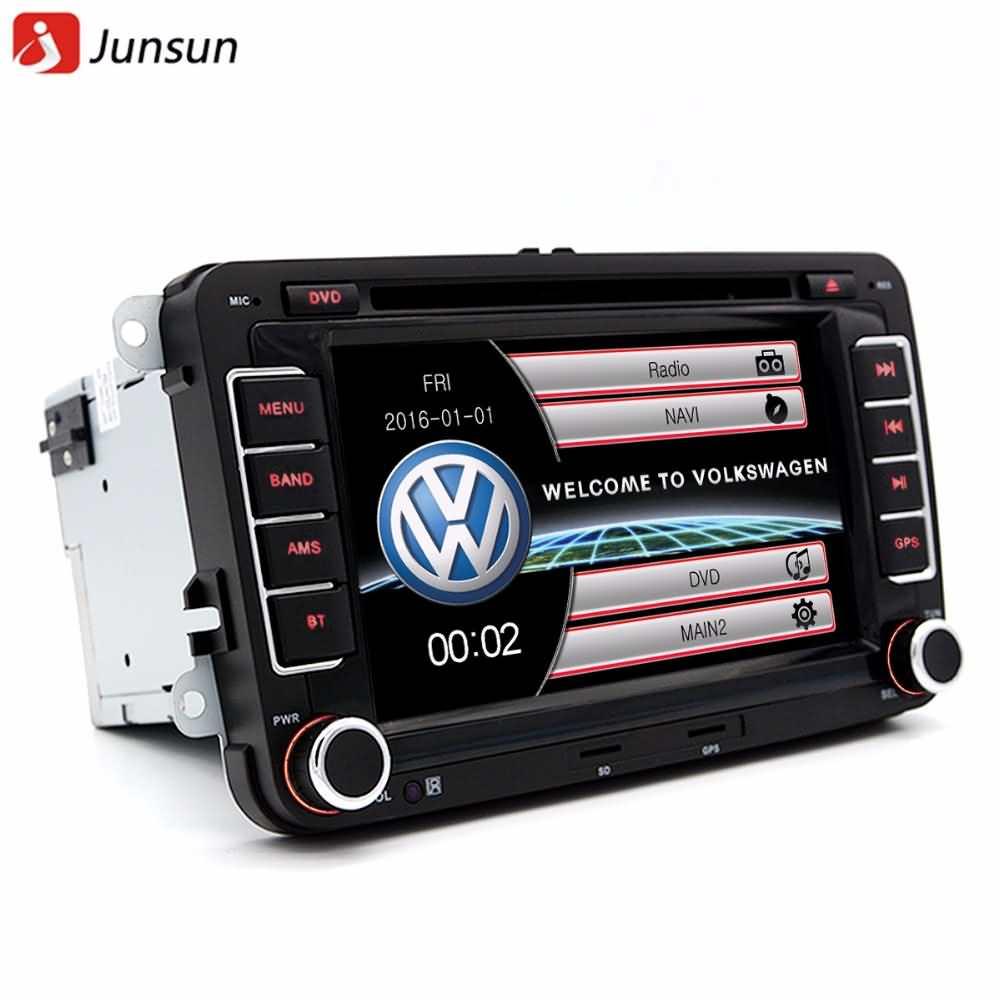 """Buy Volkswagen: Buy Junsun 7"""" Double Din Car GPS DVD Radio Player Online"""