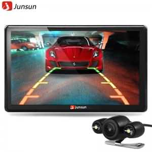 Junsun 7 inch Car GPS Navigation Bluetooth 8GB with Rear view Camera