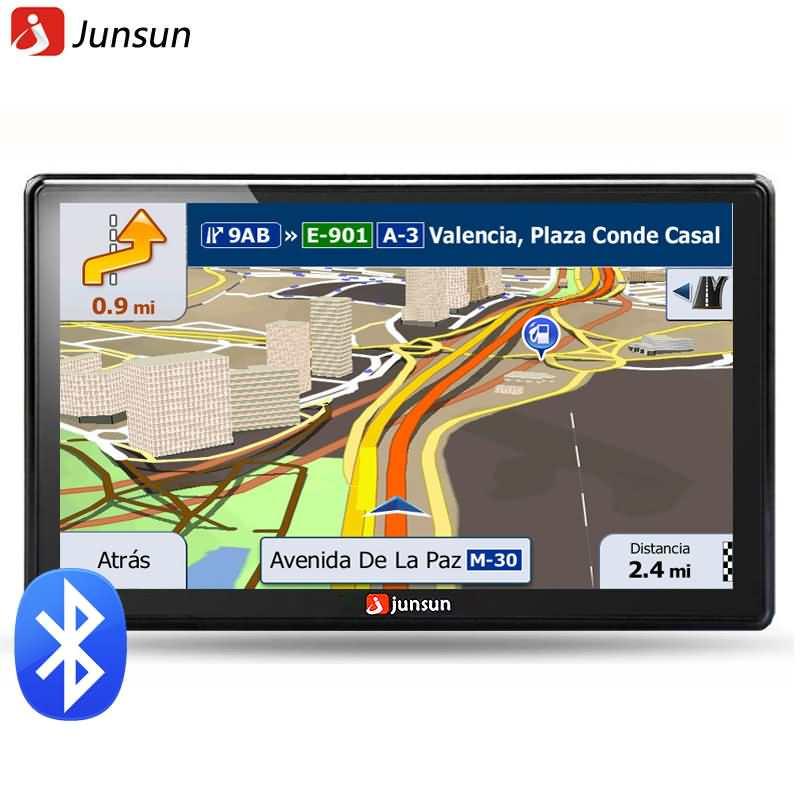 Buy Junsun 7 Inch HD Car GPS Navigation FM 8GB Online