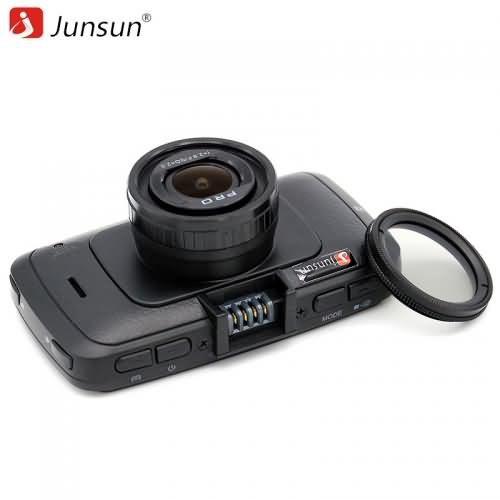 Junsun Mini Car DVR Camera with GPS registrar Video Recorder Full HD 1296P Recorder