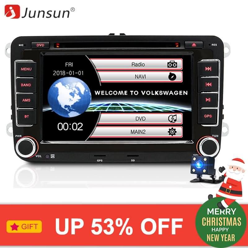 "Buy Junsun 7"" 2 Din Car DVD GPS For Volkswagen VW Golf 6"