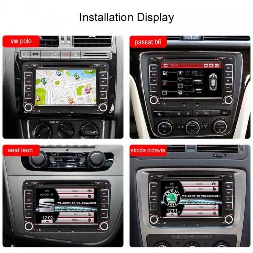 Junsun 7″ 2 din Car DVD GPS for Volkswagen VW golf 6 passat b6 B7 Touran  polo Tiguan seat leon skoda octavia