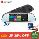 "Junsun E515 Car DVR 3G Mirror 6.5"" Dash Cam Full HD 1080P Video Recorder Camera"