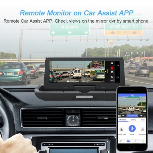Junsun 4G ADAS Car Dashcam Android DVR Camera FHD 1080P Dual Lens Auto Dash  Cam Navi GPS Adjustable Screen Parking Monitor