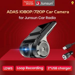 For Junsun Android Multimedia player with ADAS Car Dvr Junsun s600 dash camera